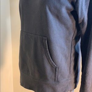 The North Face Tops - The north face hoodie grey & pink size medium